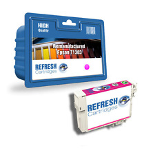 REMANUFACTURED (NON GENUINE) T1303 MAGENTA INK CARTRIDGE FOR EPSON PRINTERS