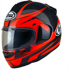 Arai Chaser X Tough Motorcycle Full Face Helmet Helmets Red Black With Pinlock