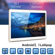 HD 10'' Dual SIM Camera 4G Quad Core Tablet PC Android5.1 2+32GB Bluetooth Wi-Fi