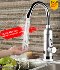 New Electric Water Heater Instant Hot Water Faucet Tankless Digital Display