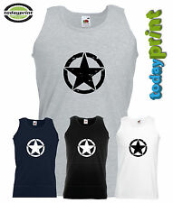 MUSCOLO Camicia, Canottiera US Army, Allied Star, HUMMER WILLYS, JEEP