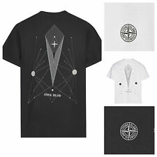"STONE ISLAND SHORT SLEEVE CREW NECK T-SHIRT  ""ABSTRACT"""