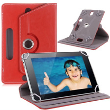 "New Leather Universal Folio Flip Case Cover For Android Tablet PC 7"" 8"" 9"" 9.7"""