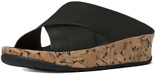Brand New FitFlop A43-090 Women's Black Kys Slide Sandals