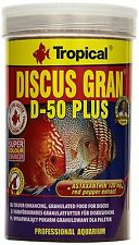 DISCUS GRAN D-50 PLUS Colour-enhancing  granules for discus 250ml 1000ml