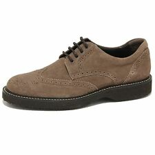 1955O scarpa allacciata HOGAN ROUTE DERBY marrone scarpe uomo shoes men