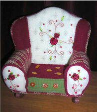 MIP New Holiday Plush Rocking Chair fits 18