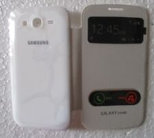 SAMSUNG GALAXY GRAND i9082 Back Flip Cover Cases/Screen Guard