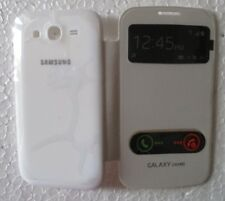 SAMSUNG GALAXY GRAND i9082 Back Flip Cover Cases/Screen Guard/Tempered Glass