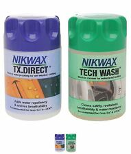 OFFERTA Nikwax Tech Wash and Proof 150ml Twin Pack