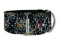 Enchanted antlers martingale dog collar by COLLAROLOGY