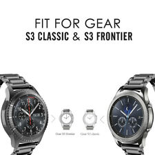 Metal Stainless Steel Strap Link Band For Samsung Galaxy Watch 46mm 42mm S3 S2