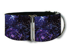 Space galaxy martingale dog collar by COLLAROLOGY