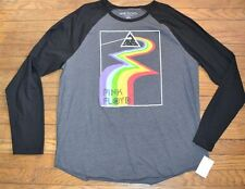 Pink Floyd The Dark Side of the Moon Adult T-Shirt Officially Licensed RAGLAN
