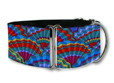 Paperfans martingale dog collar by COLLAROLOGY