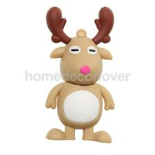 16GB 8GB 4GB Cartoon Deer U Disk USB 2.0 Memory Stick Flash Pen Drive