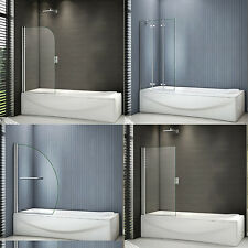 Folding Hinged / Square /Curved Pivot Shower Bath Screen Door Panel Glass 8/6 mm