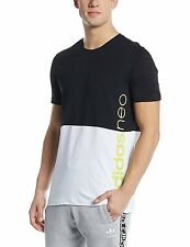Adidas Solid Mens Round Neck T-Shirt (Flat 50% OFF) -CXU