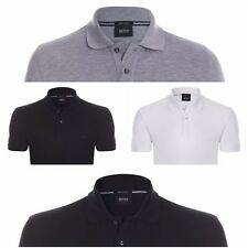 Mens Hugo Boss Mens Firenze Logo Polo Shirt Short Sleeve