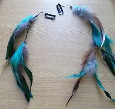 Long Feather Hair Clip/ Clip in hair extension/Feather extension! FESTIVALS
