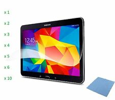 "Thin Transparent Screen Protector Shield Guard For Samsung Galaxy Tab 4 (10.1"")"