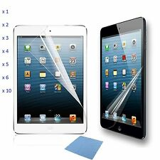 Premium Thin Clear Transparent Screen Protector Shield Guard For iPad Mini 3 2