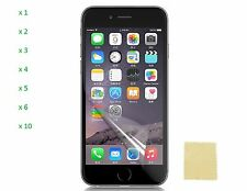 Ultra Clear Transparent Screen Protector Guard For iPhone 6S Plus/ iPhone 6 Plus