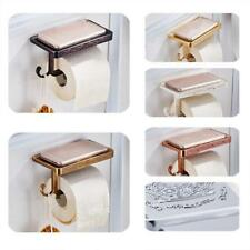 Bathroom Toilet Tissue Paper Roll Holder Paper Dispenser with Cover 6 Colors