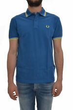 FRED PERRY Polo uomo manica corta piquet Light and Stretch, 30162009, slim fit