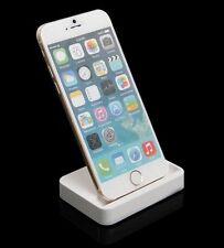 Dock Stand Cradle Charging Docking Station For Apple iPhone 5/6 - WHITE & BLACK