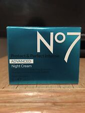 No7 Advanced Night Cream, 50ml, Brand New In Box RRP £24.95