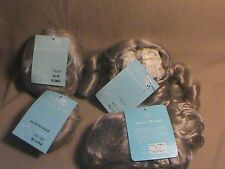 Lot of 4 vintage doll hair