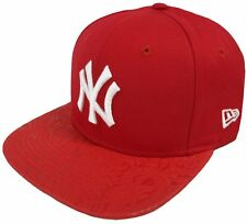 NEW ERA CAPPELLINO MLB POLY CORE NY YANKEES SCARLET