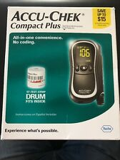 NEW ACCU-CHEK Compact Plus Meter Kit Blood Glucose Monitoring System
