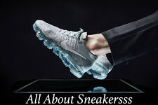 "Nike Air VaporMax Flyknit ""PURE PLATINUM/WHITE/WOLF GREY"" 849558-004 Limited One"