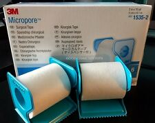 "3M Micropore PAPER Medical Tape WITH DISPENSER 2"" x 10 yds - 1 to 6 Rolls/box"