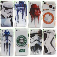 Star Wars Funda Carcasa para iPhone case 5 5S 6S 7 8 Plus, Silicona