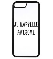 Je Mappelle Awesome Funny Hipster Tumblr France Phone Case iPhone Cover