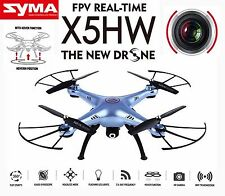 X5HW -I FPV 2.4Ghz 4CH RC Headless Quadcopter Drone - live HD Wifi Video Camera