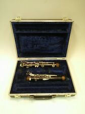 Pruefer Silver Throat Bb Clarinet with Original Case for Parts or Restoration