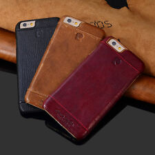 * Pierre Cardin Genuine Leather Back Cover Case For Apple iPhone 6/6s/7/7 Plus*