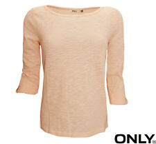 ONLY DAMEN OBERTEIL TOP, STRICK ONLJESS 3/4 TOP JRS NOOS GR.  L
