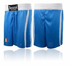 BOXEUR DES RUES UOMO FPI OLYMPIC MATCH SHORTS BLU ROYAL