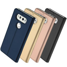 Genuine DUX DUCIS Pro Skin Series Faux Leather Side Flip Case Cover for LG G6