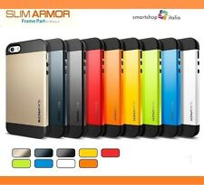 COVER BUMPER CUSTODIA CASE SLIM per APPLE IPHONE 4-4S; 5-5S; 5C TPU ARMOR