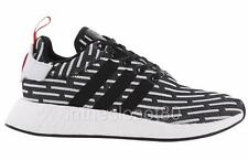 Adidas NMD R2 Core Black White PrimeKnit Mens Trainers BB2951