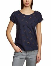 Scotch & Soda Maison Damen Woman T-Shirt Shirt Blau ** NICE STYLE ** NEW ** NEU