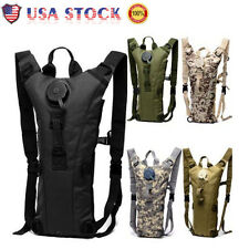 3L Hydration Backpack Water Bladder Bag Military Hiking Camping Camelbak Pack