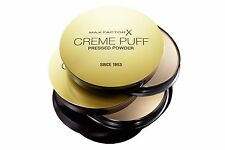 4 X NEW MAX FACTOR CREME PUFF PRESSED POWDER SINCE 1953( MULTIPLE VARIATIONS)