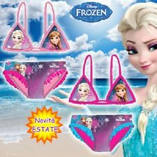 Costume da Bagno Frozen Bambina.Mare,Estate.Elsa & Anna.Disney.Novita' Estate